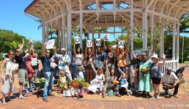 2012 Création mouvement Incroyables Commestibles en Callédonie