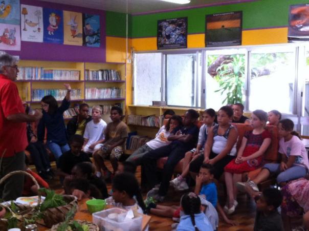Intervention dans le primaire semaine de l'environnement